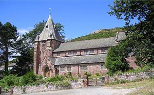 All Saints Church, Deganwy - Image: Deganwy 7010254X
