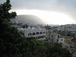 View of Deir al-Asad,  2007