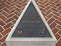 Delaware First to Ratify the Constitution Marker, Dover Capital Complex, Dover, Delaware (14424215725).jpg