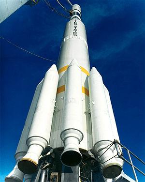 Delta 0100 - Delta 0900 prior to the launch of Nimbus 5.