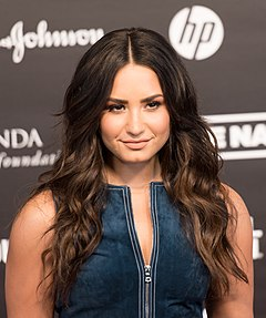 Demi Lovato Demi Lovato (Red carpet) - Global Citizen Festival Hamburg 07.jpg