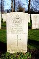 Den Burg - cemetery- K. Wilcock - Flight engineer - RAF - 15-02-1944.JPG
