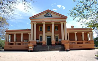 James Barnet - Image: Deniliquin Court House