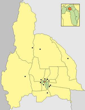 Capital Department, San Juan - Image: Departamento Capital (San Juan Argentina)