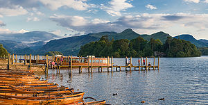 Derwent Island House - Image: Derwent Water, Lake District, Cumbria June 2009