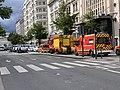 Des pompiers, avenue Berthelot (Lyon), en marge d'une manifestation de gilets jaunes (3).jpg