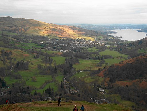 Descent to Rydal - geograph.org.uk - 1755377