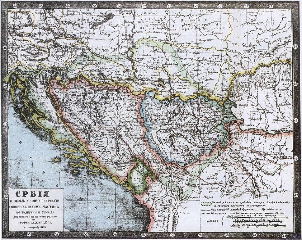Desjardins Balkans 1853