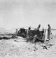 Destroyed iraqi artillery