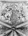 detail gewelfschildering in het koor onze lieve vrouw met kind van de broederenkerk te zutphen - zutphen - 20226882 - rce