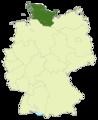 Deutschland Lage der Oberliga Hamburg-Schleswig-Holstein (1994-2004).png