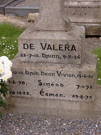 Éamon de Valera - Image: Devgrave close