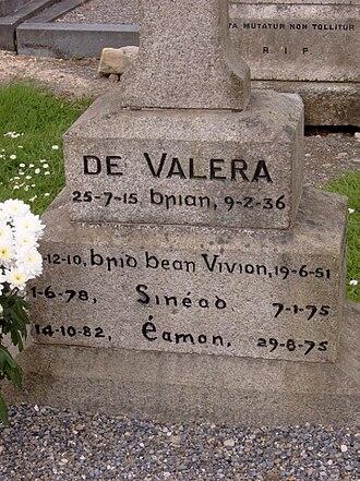 Éamon de Valera - Image: Devgrave close