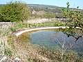 Dew pond and Haddon - geograph.org.uk - 1264430.jpg