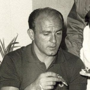 Alfredo Di Stefano en el Salón Don Guido.