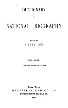 Dictionary of National Biography volume 47.djvu