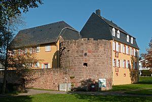 Ginsheim-Gustavsburg - Gustav castle in Jägersburg