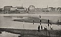 Die Versandung des Rheins bei niedrigstem Wasserstand 0,76 Meter Pegelstand am 25. August 1904, Foto Julius Söhn.jpg