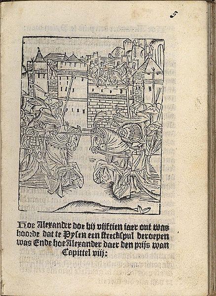 Archivo:Die hystorie vanden grooten Coninck Alexander Delft 1491 01.jpg