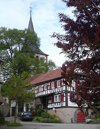 Sternenfels - Diefenbach center.