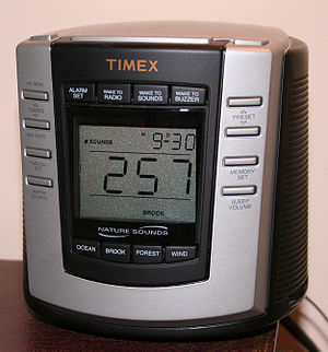 Digital clock - A premium digital clock radio with digital tuning