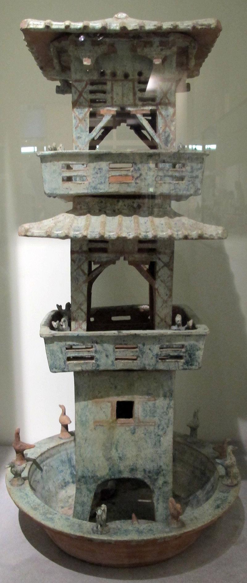 Dinastia han posteriore, torre d'osservazione, henan, I-III sec. 01.JPG
