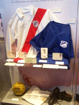 Alfredo Di Stéfano - Di Stéfano's memorabilia at the Real Madrid museum