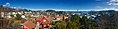 Distorted panorama view of central Leirvik town on Stord Island, Norway 2018-03-13 A.jpg