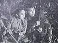 Djuriah Karno and Turino Djunaidy in Rentjong dan Surat Film Varia Nov 1953 p9.jpg
