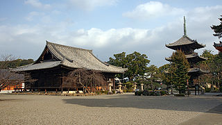 Dōjō-ji Buddhist temple in Wakayama Prefecture, Japan