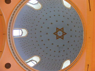 Religion in Turkey - Dome of the Istanbul Ashkenazi Synagogue