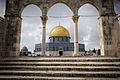 Dome of the Rock viewed through the Northern Qanatirs, Jerusalem.jpg