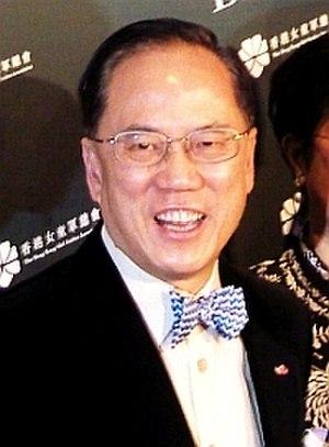 Donald Tsang - Donald Tsang at a premiere