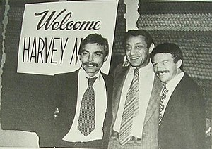 Don Amador - Don Amador, his husband Tony Karnes, and Harvey Milk