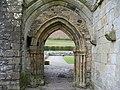 Doorway at Valle Crucis Abbey - geograph.org.uk - 1242458.jpg