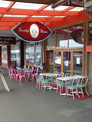 Ponsonby, New Zealand - Ponsonby has a big cafe culture as well as a historical reputation for being Auckland's gay quarter.