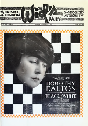 Black Is White - Advertisement for film