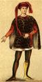 Dräkt, Florentinskt adelsman, Nordisk familjebok.png