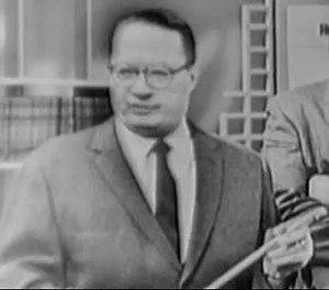 Philip Hauser - Image: Dr. Philip Hauser in 1960