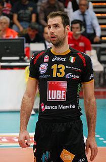 Dragan Travica Italian volleyball player