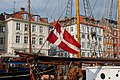 Drapeau danois - port de Copenhague.jpg