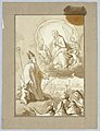 Drawing, Bishop with Mary, Queen of Heaven, 17th–19th century (CH 18126625).jpg