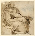 Drawing, Figure with Child, 1550 (CH 18126783-2).jpg