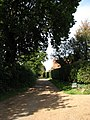 Driveway to camping site - geograph.org.uk - 570276.jpg