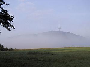 Blick auf den Dünsberg