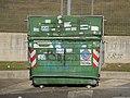 Dumpster Roman green.JPG