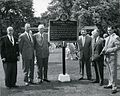 Dundurn Castle plaque commemoration. 1958. (14281644911).jpg