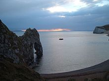 Durdledoor Sunset - 03 March 05.jpg