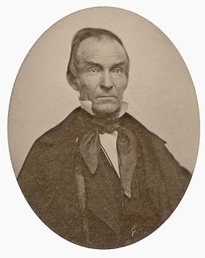 Dwight Baldwin (missionary) - Image: Dwight Baldwin, ambrotype, 1854 (cropped)