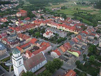 Działdowo - Town view
